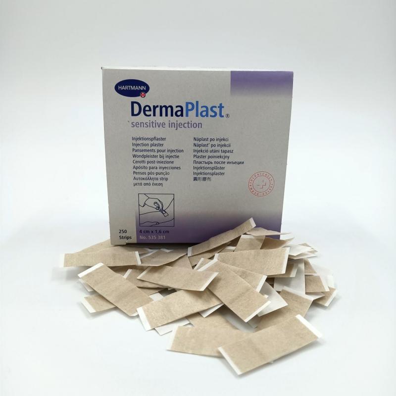 Dermaplast Sensitive injectiepleister 4 x 1.6 cm