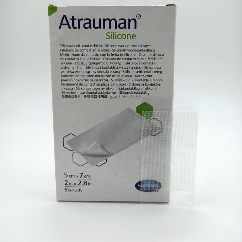 Atrauman Silicone wondcontactlaag steriel