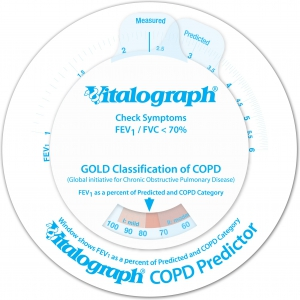 Vitalograph COPD-6 monitor BT Bluetooth
