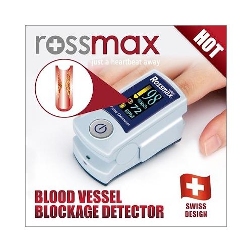 Rossmax ACT voor een snelle screening van uw bloedvaten-, SpO2- en hartslag