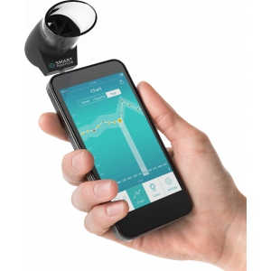 Smart Peak Flow Meter voor smartphones