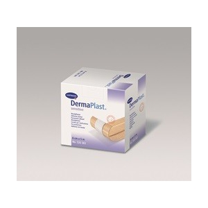 Dermaplast sensitive wondpleister 5 mtr x 6 cm